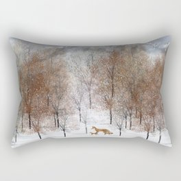nature will find a way deux Rectangular Pillow