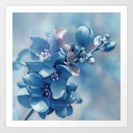 Blue 81 Art Print