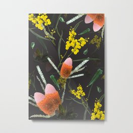 Wild Night Natives Metal Print