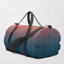 Meteor rain Duffle Bag