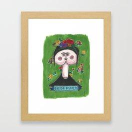 Frida Kuhlo Framed Art Print