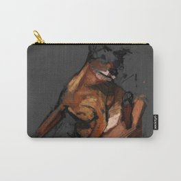 Dog scratching Carry-All Pouch