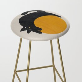Cat with ball Bar Stool
