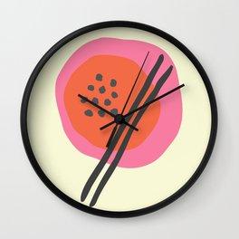 Frugal Food Sixties Wall Clock
