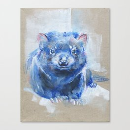 Tassie Devil Canvas Print