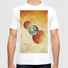 Take me to the moons and back White Mens Fitted Tee MEDIUM