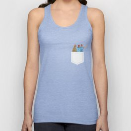 The Life Aquatic with Steve Zissou: Minimalist Poster Unisex Tank Top