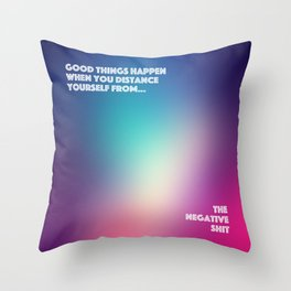 Good Things Happen Throw Pillow