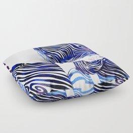Water Nymph XXXIII Floor Pillow