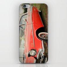 1957 Chevrolet Bel Air Convertible iPhone & iPod Skin