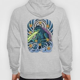 king of monster japanese tattoo Hoody