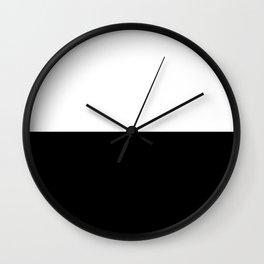 WHITE-BLACK Wall Clock
