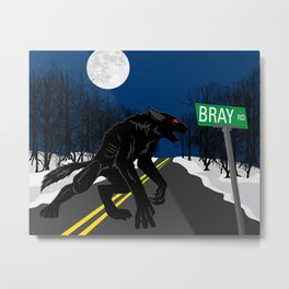 The Beast of Bray Road Metal Print