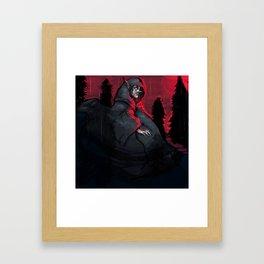 Lightning Farmer - Empigow Framed Art Print