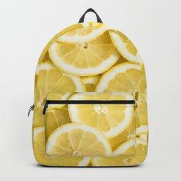 Lemon pattern #society6 #decor #buyart Backpack