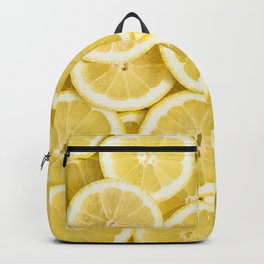 Lemon pattern #society6 #decor #buyart Backpack