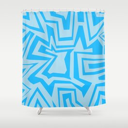 Ice - Coral Reef Series 010 Shower Curtain