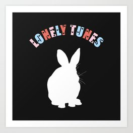 Lonely Tunes Art Print