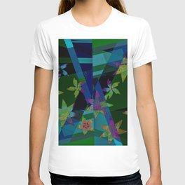 Floral patchwork T-shirt