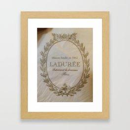 Laduree Framed Art Print