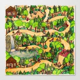 Red Riding Hood's path//El Caminito de Caperucita Roja Canvas Print