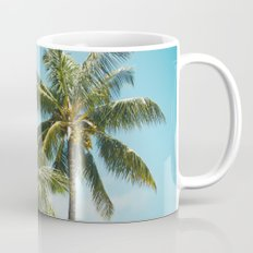 Coconut Palm Trees Sugar Beach Kihei Maui Hawaii Mug