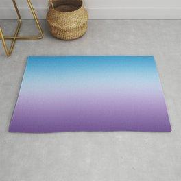 Hydrangea Blue And Purple Ombre Rug