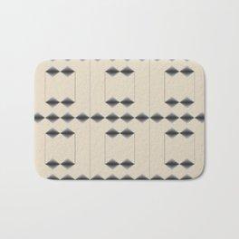 Diamond Stripes Bath Mat
