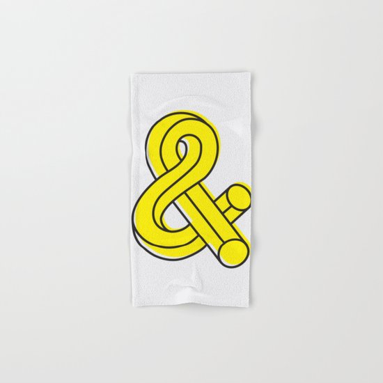 Ampersand Hand & Bath Towel