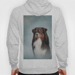 Australian Shepherd dog Hoody