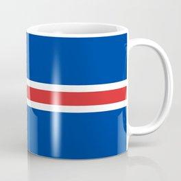 National flag of Iceland Coffee Mug