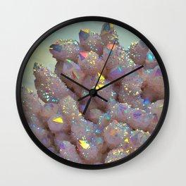 Angel Aura Spirit Quartz crystal Wall Clock
