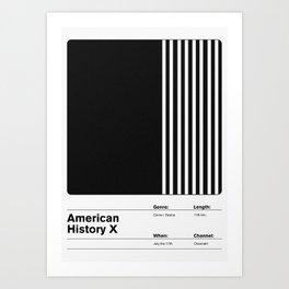 American History X Art Print