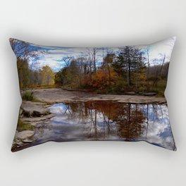 Water Reflection Rectangular Pillow