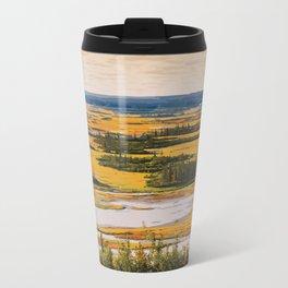 Wood Buffalo National Park Metal Travel Mug