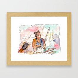 Ebun from T-Rextasy  Framed Art Print