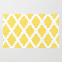 Yellow Diamonds Rug