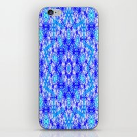 snowflake iPhone & iPod Skins featuring Snowflake by Kimberly McGuiness