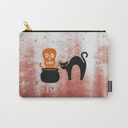The Skeleton In The Witches Pot Carry-All Pouch