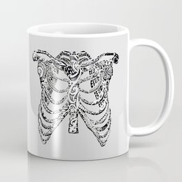 Ribcage Tattoo Coffee Mug