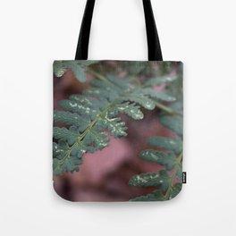 Detailed Leaves Tote Bag