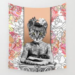 CAT WOMAN Wall Tapestry