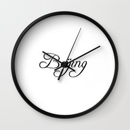 Beijing Wall Clock