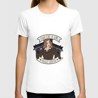 peggy carter T-shirts featuring Fight Like a Girl - Peggy Carter by Kaol