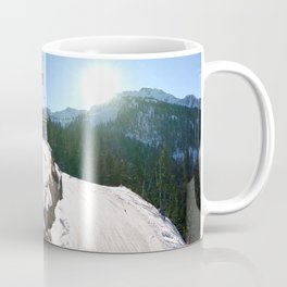 Mountains transport Coffee Mug