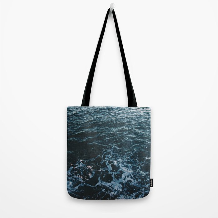 Dark #Sea Tote Bag