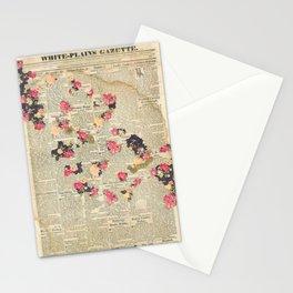 VINTAGE FLOWER COLLAGE Stationery Cards