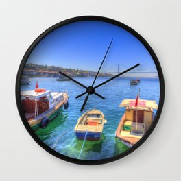 The Bosphorus Istanbul Wall Clock