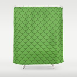 Scales Shower Curtain