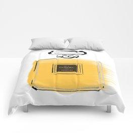 Orange perfume #4 Comforters